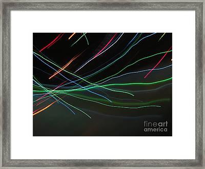 Framed Print featuring the photograph Shooting Stars by Ausra Huntington nee Paulauskaite
