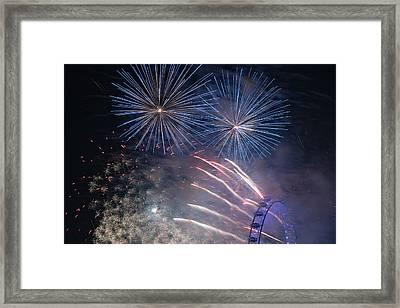 Shooting Stars Framed Print by Monika Tymanowska