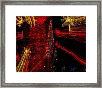 Shooting Stars Framed Print by Penny Lisowski