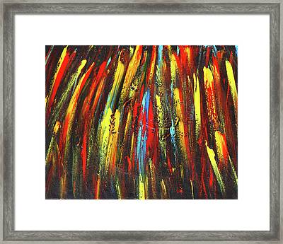 Shooting Stars Framed Print