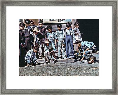 Shootout Framed Print by JS Stewart
