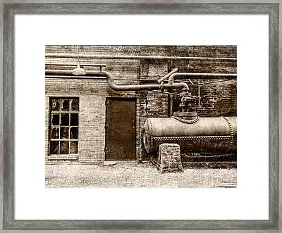 Building At Sloss Framed Print by Phillip Burrow