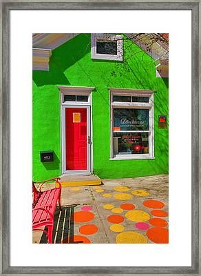 Shop Colors Framed Print by Steven Ainsworth