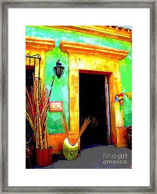 Shop El Quilete By Darian Day Framed Print