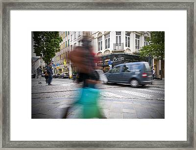 Shop  Framed Print by Krista  Corcoran Photography