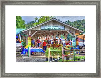 Shop Local Framed Print