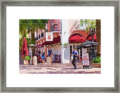 Shop Til You Drop  Framed Print
