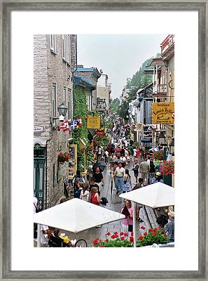 Framed Print featuring the photograph Shop Till One Drops by John Schneider