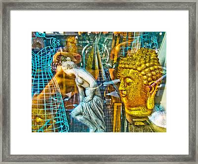 Shop Window 1 Framed Print by Dan McCarthy