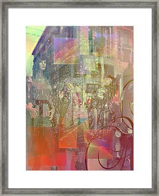 Shop-window  Framed Print by Agnes V