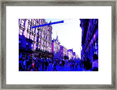 Shopping Framed Print