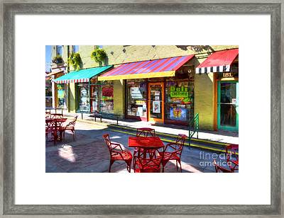 Shops At Cincinnati's Findlay Market # 2 Framed Print by Mel Steinhauer