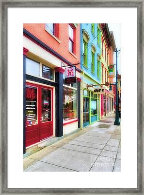Shops At Cincinnati's Findlay Market # 6 Framed Print by Mel Steinhauer