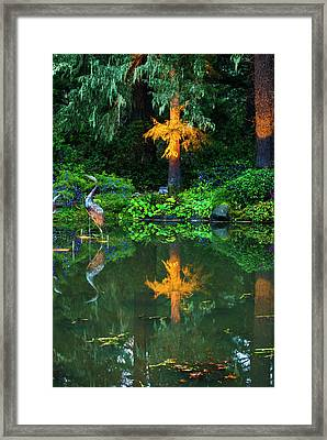 Framed Print featuring the photograph Shore Acres Beauty by Dale Stillman