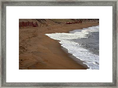 Shore Art - Plum Island Framed Print
