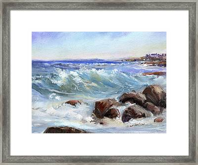 Shore Is Breathtaking Framed Print