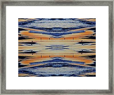Shore Lines Framed Print