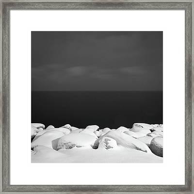 Shore Framed Print by Michael Lerman