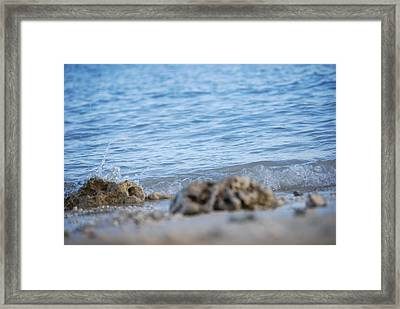 Shore View Framed Print by Lakida Mcnair