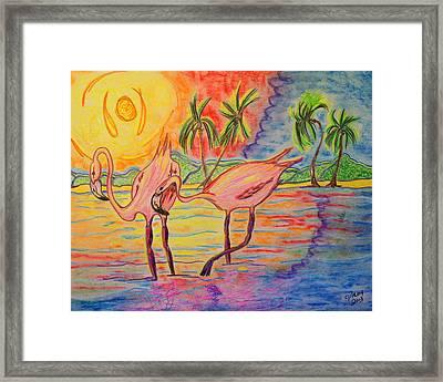 Shorebirds Framed Print