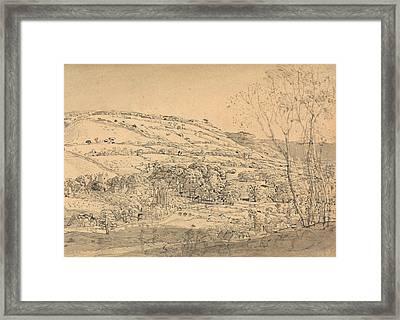 Shoreham, Kent Framed Print by Samuel Palmer
