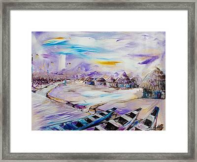 Shoreline Framed Print