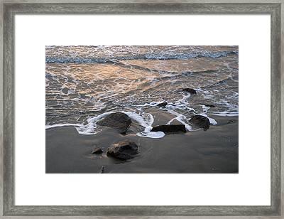Shoreline Framed Print by Robert Anschutz