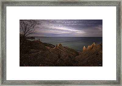 Shoreline Sentries Framed Print