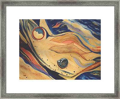 Shorelines Framed Print