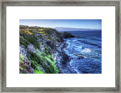 Framed Print featuring the photograph Shores Of Maui by Shawn Everhart