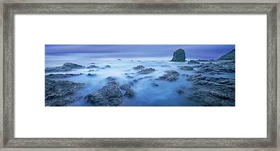 Shores Of Neptune - Craigbill.com - Open Edition Framed Print by Craig Bill