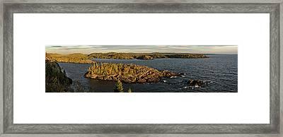 Shores Of Pukaskwa Framed Print