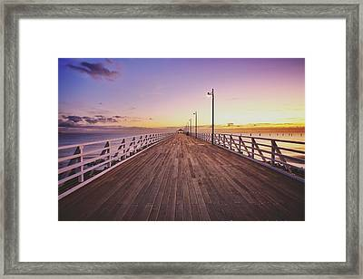 Shorncliffe Pier At First Light  Framed Print
