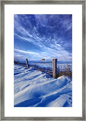 Short Piece Of Time Framed Print by Phil Koch
