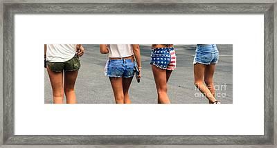 Shorts  Framed Print
