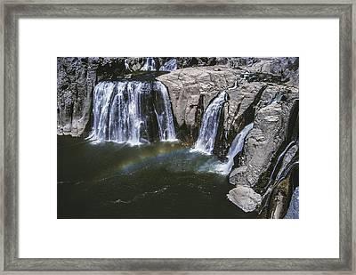 Shoshone Falls Idaho Framed Print