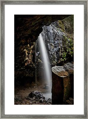 Shot From Within Framed Print