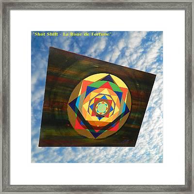 Shot Shift - La Roue De Fortune Framed Print by Michael Bellon