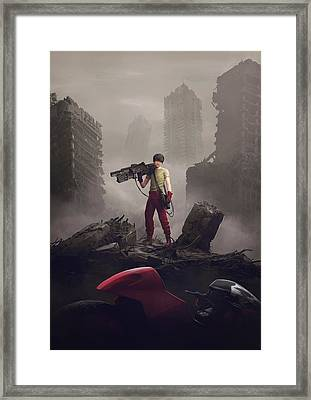 Shotaro Kaneda Framed Print by Guillem H Pongiluppi