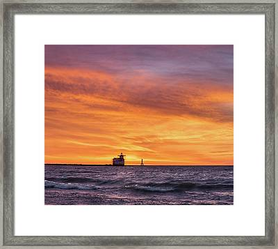 Framed Print featuring the photograph Should Have Been There by Bill Pevlor