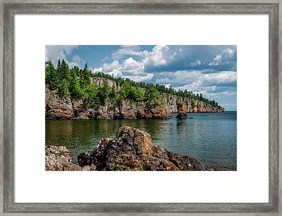 Shovel Point  Framed Print