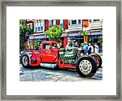 Show And Tell Framed Print by Anthony Djordjevic