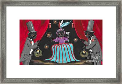 Show Cats Framed Print