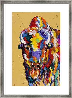 Show Down Framed Print by Tracy Miller
