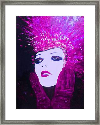 Show Girl Dorothy Framed Print by Frederick Lyle Morris
