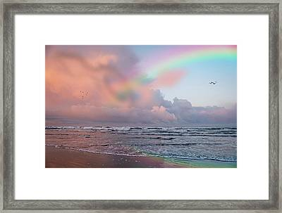 Show Me A Sign Framed Print