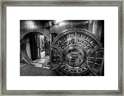 Show Me The Money Framed Print