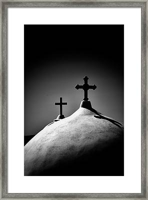 Show Me The Path. Framed Print