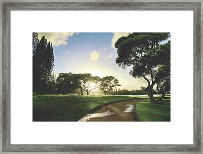 Show Me The Way Framed Print by Laurie Search