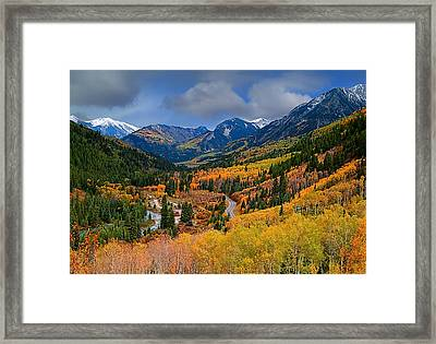 Show Me The Way Framed Print by Tim Reaves
